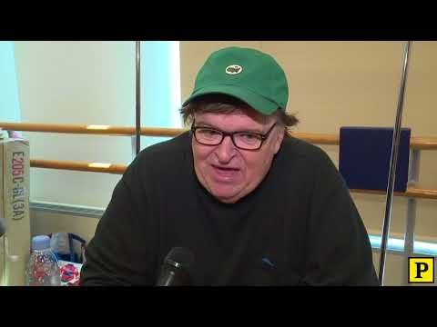 FIRST LOOK: Michael Moore Begins Rehearsal for The Terms of My Surrender