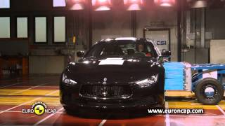 видео Краш тест Aston Martin