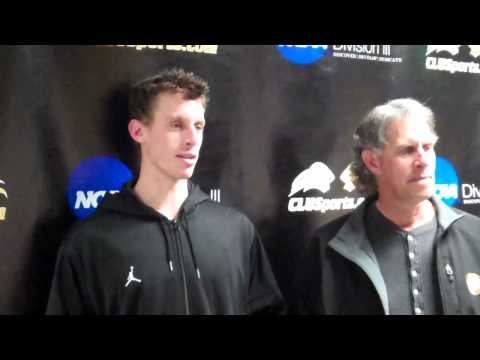 Aaron Van Klaveren Post-Game (Occidental - 1/21/12)