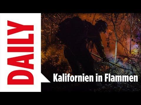 17 Tote in Kalifornien - BILD-Reporter in der Flammenhölle | BILD DAILY 11.10.17