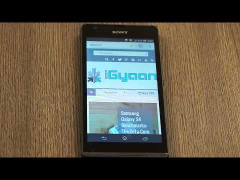 Sony Xperia SP Unboxing and Hands on Review