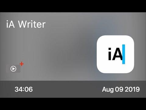 SCOM0863 - iA Writer - Preview