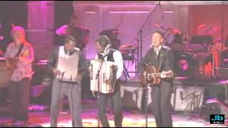Lyle Lovett and Buckwheat Zydeco - That Was Your Mother (Paul SImon and Friends - DVD - 2007)