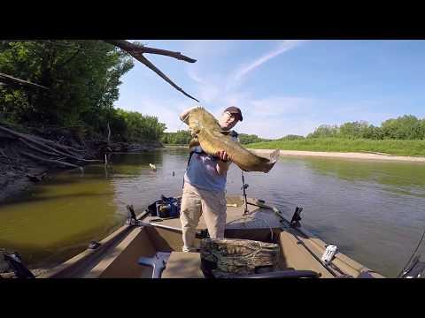 Minnesota River - Low Water Fishing