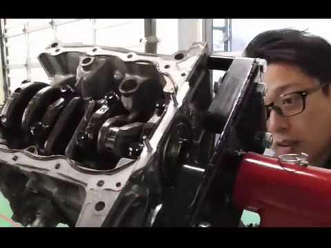 エンジン整備動画3(ピストン及びクランクシャフト取り外し) Engine maintenance videos of Daihatsu(Japanese car)