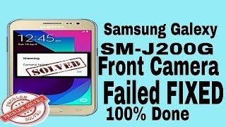Samsung j200g front camera solution