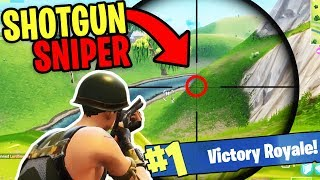 Fortnite WTF Moments: FUNNY FAILS & EPIC WINS #4 (Epic Shotgun Sniper Glitch!) (Battle Royale)