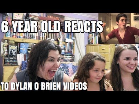Thumbnail: 6 YEAR OLD REACTS TO DYLAN O'BRIEN VIDEOS