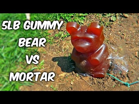 Thumbnail: 5lb Gummy Bear Vs Mortar