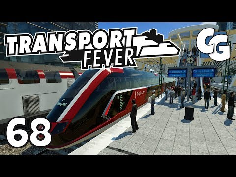 Transport Fever - Ep. 68 - TG HyRT - Hydrogen Regional Train - Transport Fever Gameplay