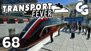 Transport Fever - Ep. 68 - TG HyRT - Hydrogen Regional Train - Transport Fever Gameplay