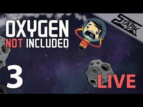 Oxygen Not Included - 3.Rész (Esti laza túlélés) - Stark LIVE