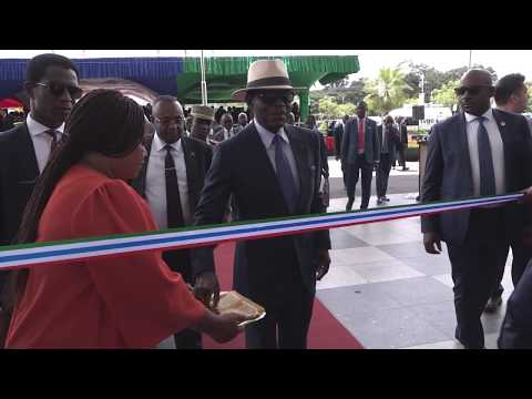 Guinea Ecuatorial – Inaguracion del nuevo Aeropuerto de Mongomeyen Equatorial Guinea