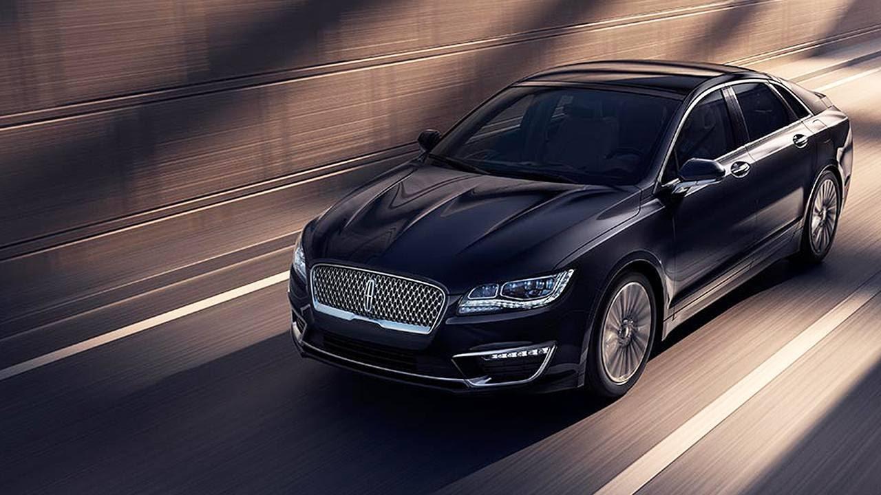 Lincoln Takes Wraps Off New Mkz Sedan At La Auto Show Youtube