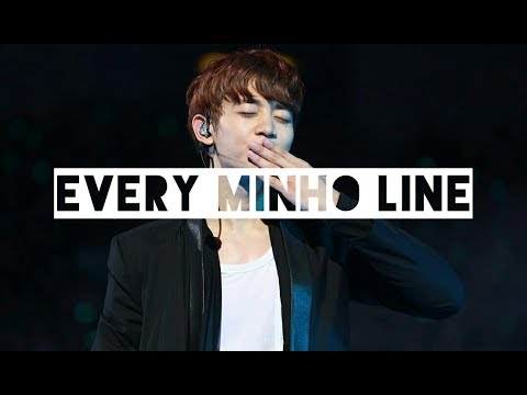 Every SHINee Song But It's Just Minho's Lines (Replay-FIVE)