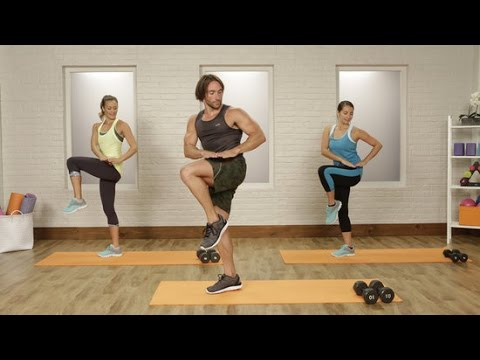 20minute total body home workout with adam rosante
