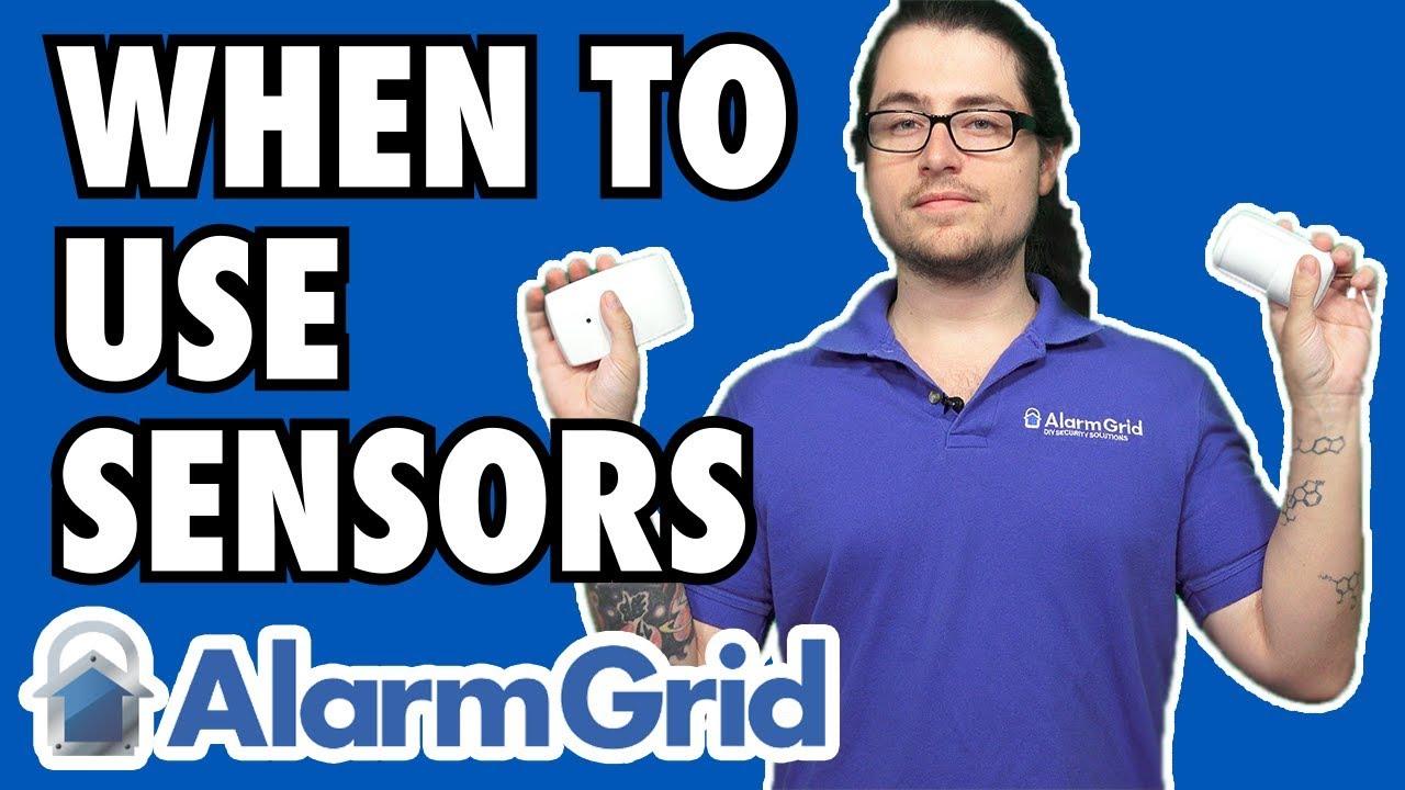 When To Use Glass Breaks Motions Or Door Window Sensors Youtube