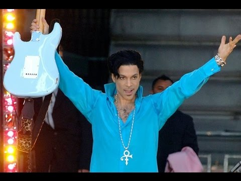 Prince Would Rather Rock Than Talk - Classic GMA Concert Moment
