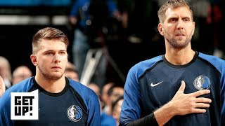 Dirk Nowitzki's influence on Luka Doncic, Spurs' strange season | Get Up!