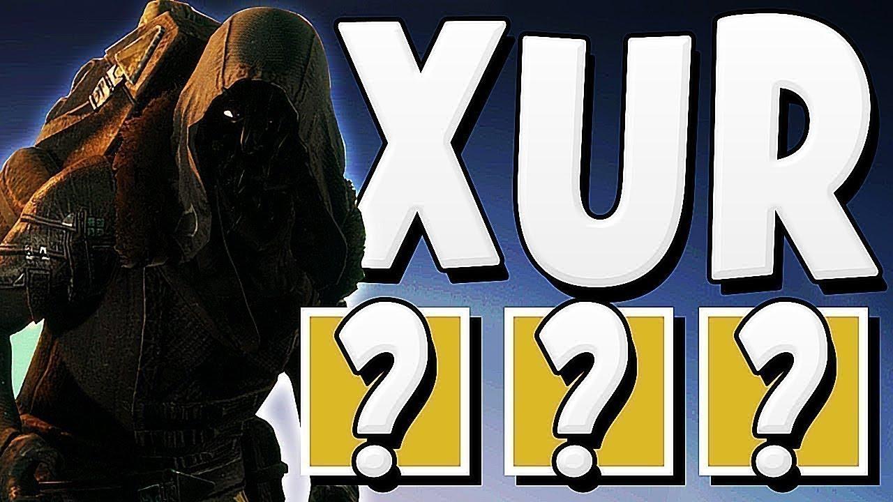 Destiny 2 - XUR LOCATION & DLC EXOTICS !!