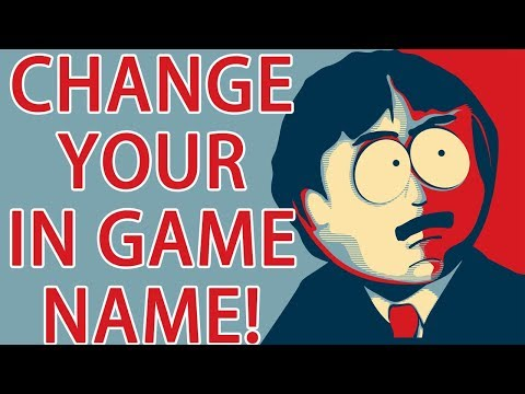 CHANGE YOUR IN GAME NAME SOUTH PARK PHONE DESTROYER