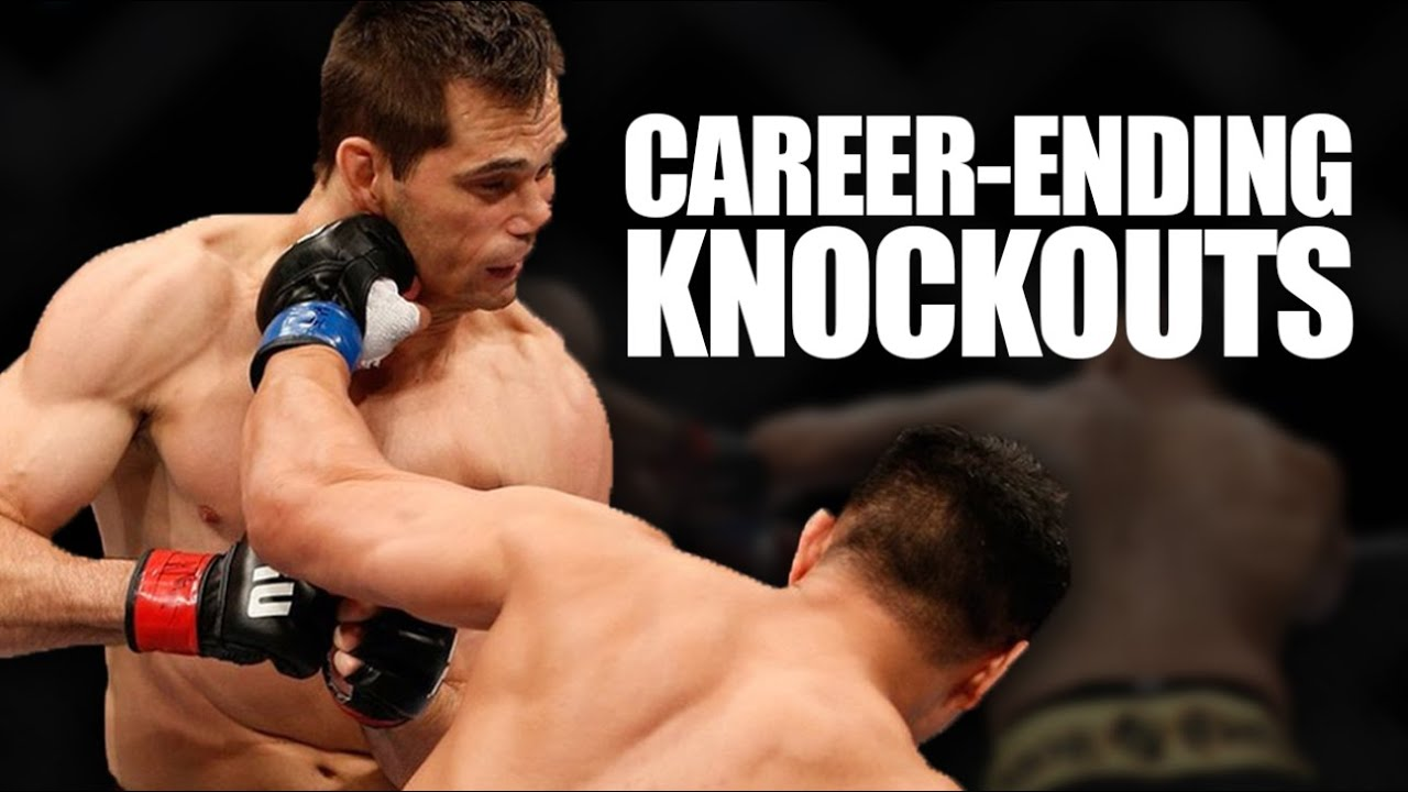 10 Knockout Losses That Ended An MMA Fighter's Career (UFC)