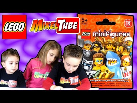 Opening Lego minifigures serie 15