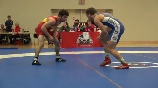 2016 Brock Open FS57kg Oren Furmanov (Guelph) vs Chris Waltner (Lakehead)