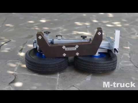 Тележка для  перевозки навесного лодочного мотора. Процесс сборки тележки M-truck force