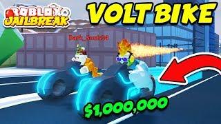 BUYING THE VOLT BIKE!! *$1,000,000* McLaren and ATV New Vehicles! (Roblox Jailbreak Winter Update)
