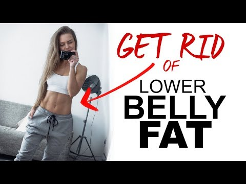 SIMPLE ways to GET RID of YOUR lower BELLY FAT   TRAINING TIP TUESDAY #3