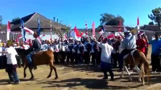 Pasukan Berkuda Lapas Sumbawa HUT RI Ke-71 Tahun 2016