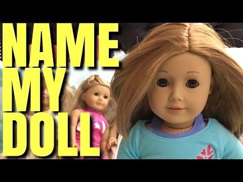 Name My New American Girl Doll