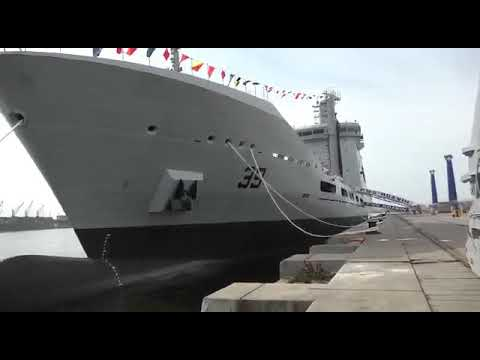 Commissioning Ceremony of PN Fleet Tanker (PNS MOAWIN)