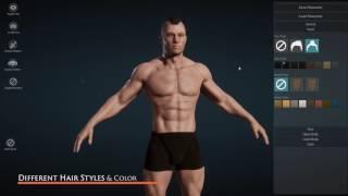 [UE4] Creador del Personaje a Crear caracteres personalizados en Unreal Engine 4