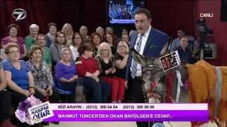 Mahmut Tuncer'den Okan Bayülgen'e Eşekli Yanıt