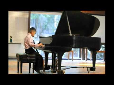 Marcus Aurelio Deleon's Third Piano Recital  2012
