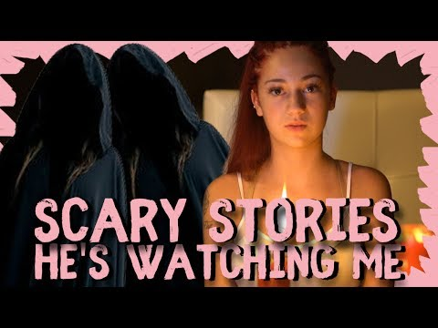 Danielle Bregoli reacts to Scary Story HE'S WATCHING ME