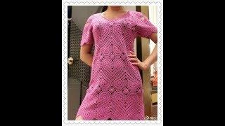 Узоры для Платья Крючком 2018 / Patterns for a Dress with a Crochet / Muster für Crochet Kleid