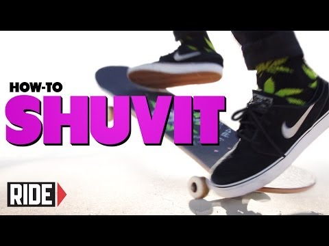 How-To Shuvit - BASICS with Spencer Nuzzi