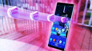 Can Candy Heart Shatter Note 8 Infinity Display?!