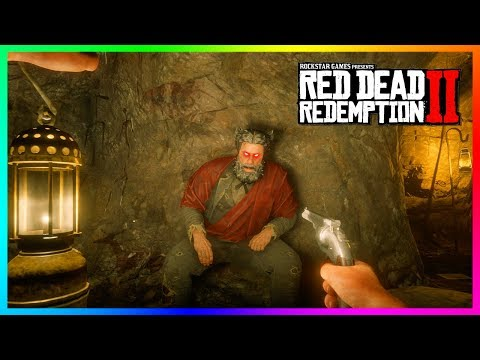 What Happens If You Get Up To The Devils Hiding Spot At His Cave In Red Dead Redemption 2? (RDR2)