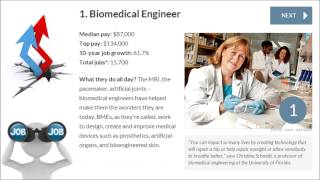 Best Jobs in America   Biomedical Engineer