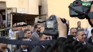 لحظة خروج حمدي الفخراني في سيارة الترحيلات