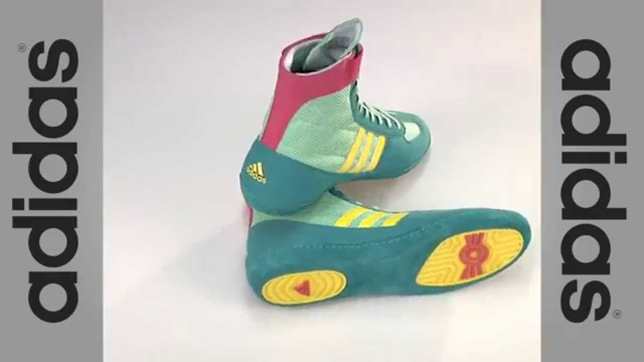 Adidas Combat Speed 4 Wrestling Shoes - YouTube
