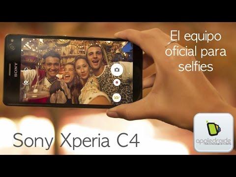Sony Xperia C4 el nuevo equipo para selfies