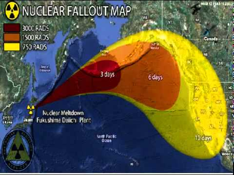 Japanese Nuclear Fallout in Jet stream and the ill winds predicted ...