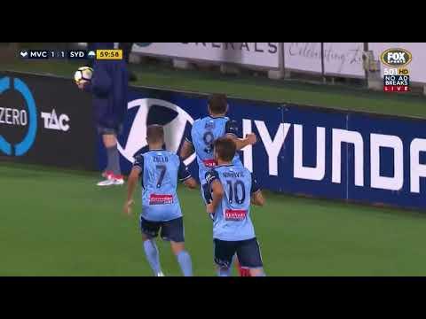 Melbourne Victory VS Sydney FC Round 18 2017/18