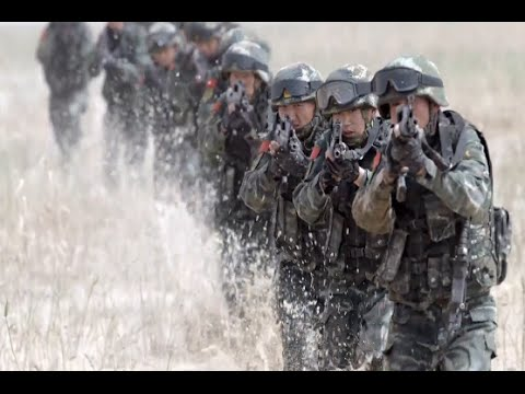 Anti Terrorism Drill Held in Xinjiang