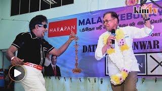 After Seri Setia, Anwar brings MGR impersonator to Port Dickson